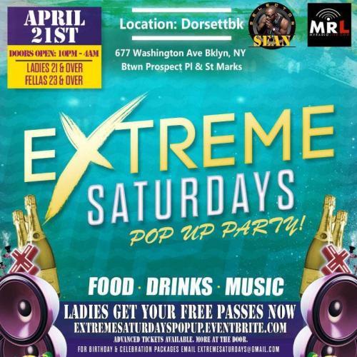 Extreme Saturdays - 4.21.18